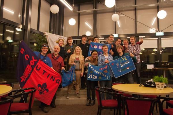 Deelnemers iScout 2012 team Volberteers