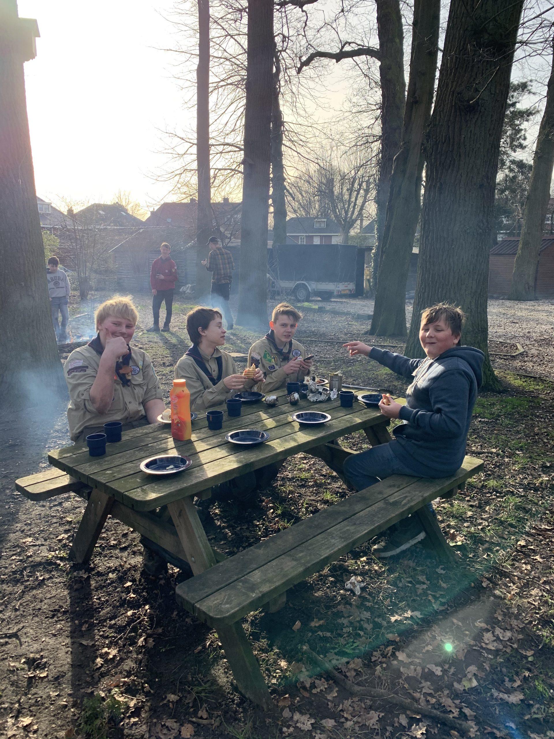 Ouderavond Scouts Jongens