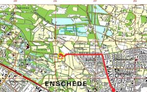 Route Enschede naar Lambarene