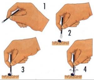 Hoe gebruik je een teken tang