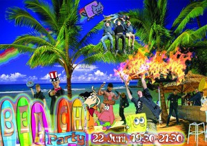Lieve Meiden, Hierbij nog eens  uitnodiging voor de beachparty  zaterdagavond a.s. Begin: 19:30 Ik hoop jullie allemaal te zien!
